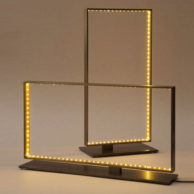 Square Table Lamp By Le Deun