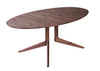 Light Oval Dining Table by Matthew Hilton