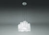 Logico Micro Triple Nested Suspension Lamp by Artemide