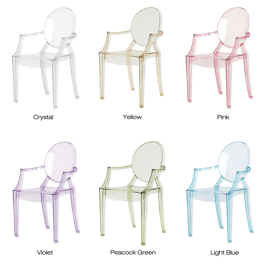 ... Lou Lou Ghost Childu0027s Chair (Set Of 4) By Kartell   Urbanspace  Interiors ...