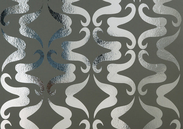 Mustachio Wallpaper by Flavor Paper