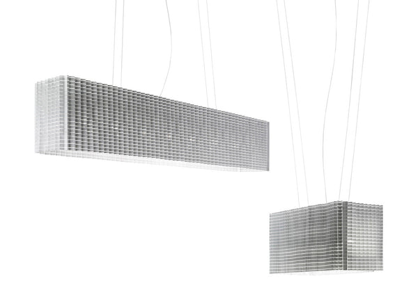 Plisse Suspension Lamp by Luceplan