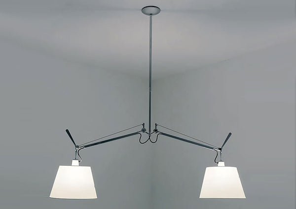 Tolomeo Double Shade Suspension Lamp by Artemide