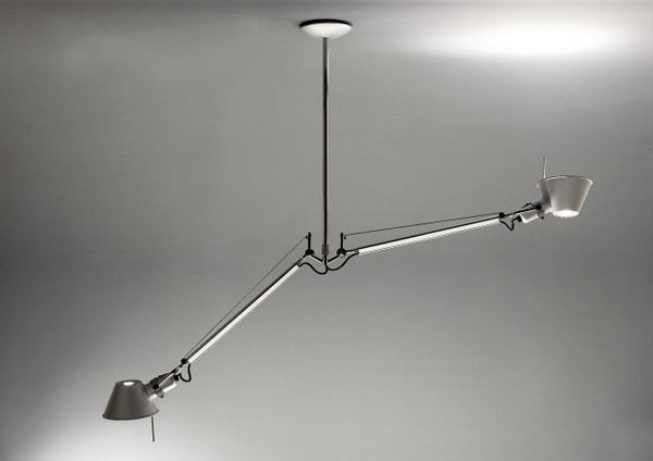 Tolomeo Double Suspension Lamp by Artemide