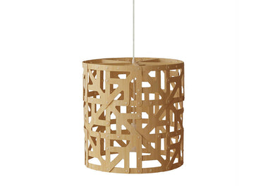 Ulu Bamboo Suspension Light by David Trubridge - Urbanspace Interiors