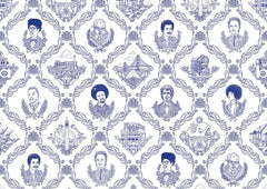 Bay Area Toile Wallpaper by Flavor Paper
