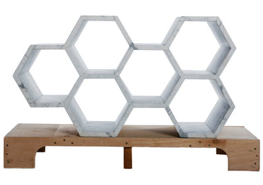 Bees & Honey Shelving Unit by Why Not Bespoke - Urbanspace Interiors