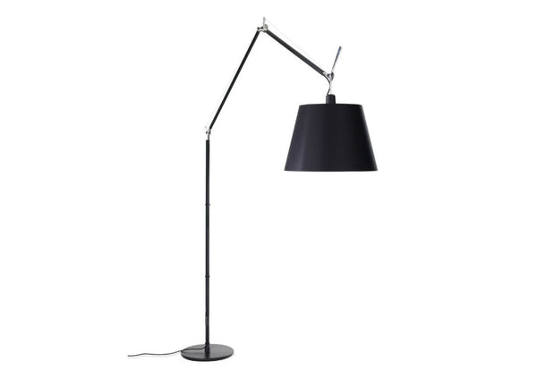 Tolomeo Black Mega LED Floor Lamp by Artemide