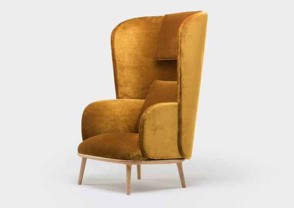 Blanche Lounge Chair by Luca Nichetto
