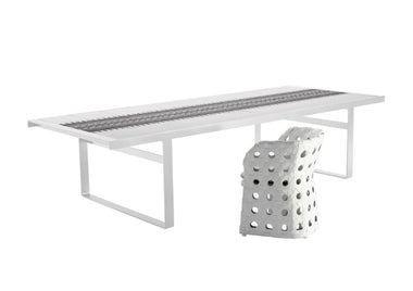 Canasta Outdoor Dining Table by B&B Italia Outdoor - Urbanspace Interiors