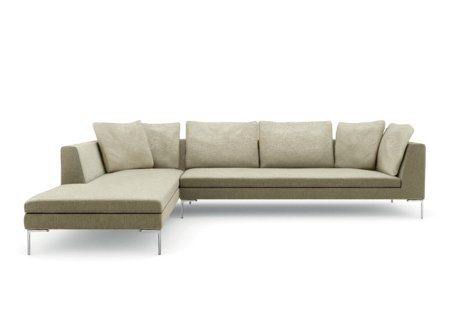 Quickship Charles Sectional Sofa B B Italia Urbanspace Interiors