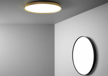 Compendium Plate Wall Lamp by Luceplan - Urbanspace Interiors
