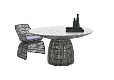 Crinoline Outdoor Dining Table by B&B Italia Outdoor - Urbanspace Interiors