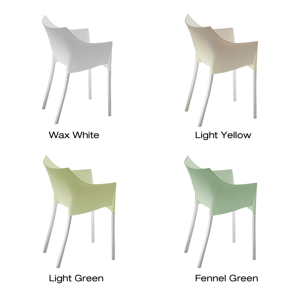 dr no chair (set of )  kartell  urbanspace interiors - dr no chair (set of ) by kartell