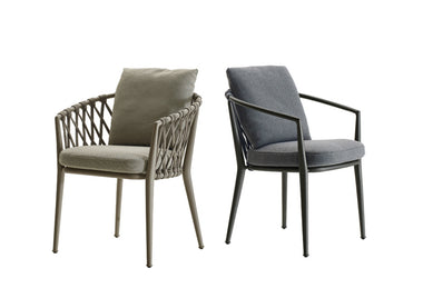 Erica Outdoor Dining Chair by B&B Italia Outdoor - Urbanspace Interiors
