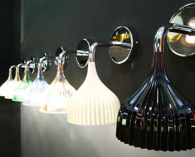 E Wall Lamp by Kartell - Urbanspace Interiors