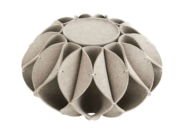 High Ruff Pouf by GAN