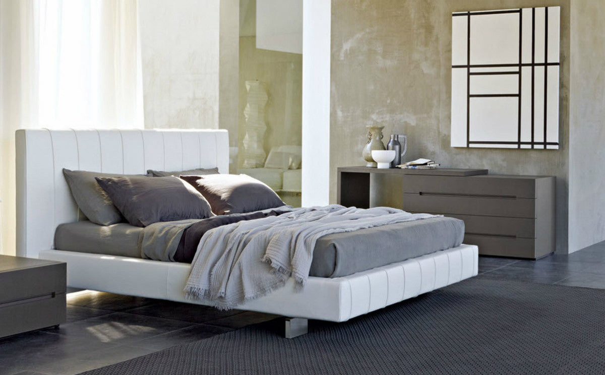 high wave bed by molteni c urbanspace interiors. Black Bedroom Furniture Sets. Home Design Ideas