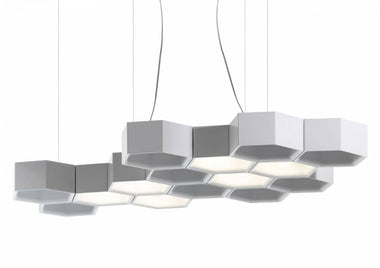 Honeycomb Suspension Lamp by Luceplan - Urbanspace Interiors