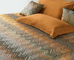 Janet Embroidered Duvet Cover by Missoni Home