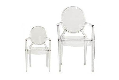 Lou Lou Ghost Child's Chair (Set of 4) by Kartell