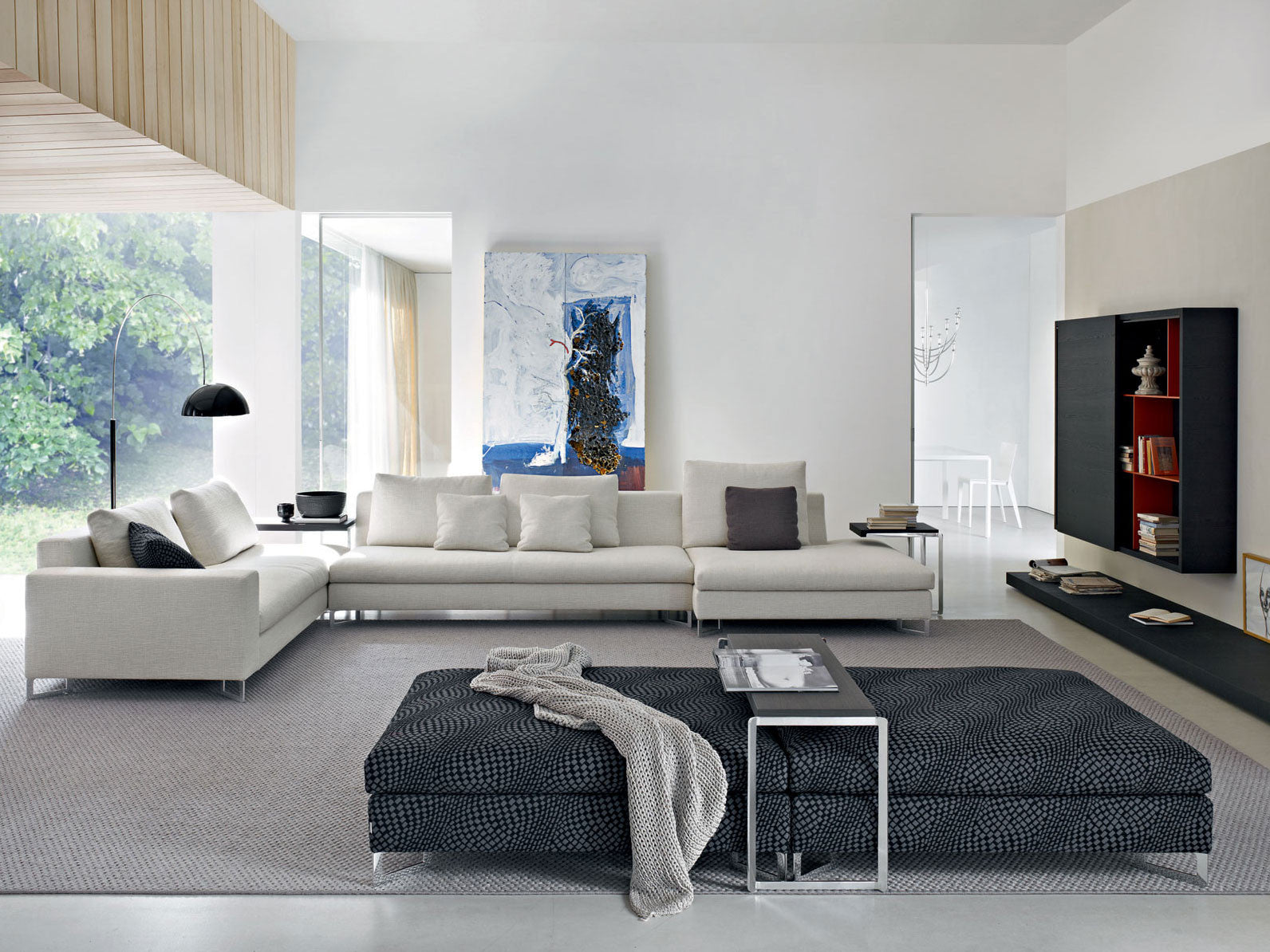 large sofa collection molteni c urbanspace interiors. Black Bedroom Furniture Sets. Home Design Ideas