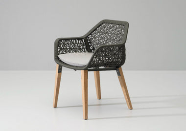 Maia Rope Armchair by Kettal - Urbanspace Interiors
