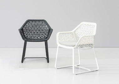 Maia Dining Armchair by Kettal - Urbanspace Interiors