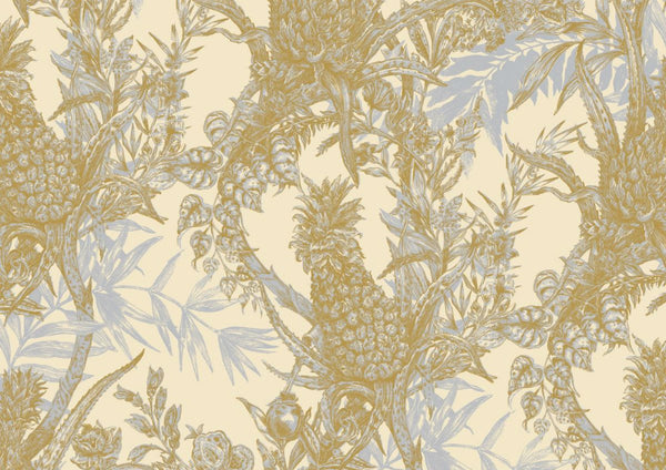 Pineapple Wallpaper by Timorous Beasties