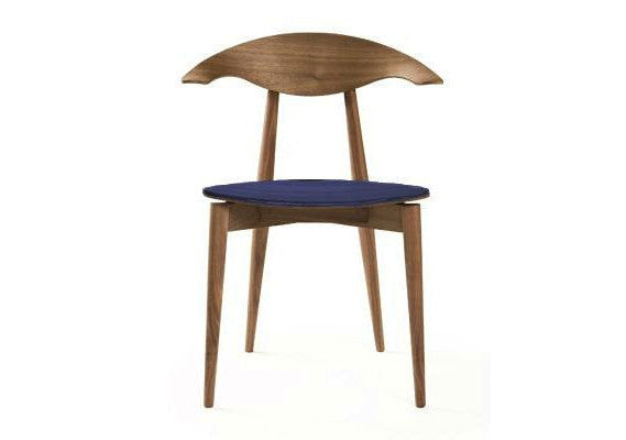 Manta Upholstered Dining Chair by Matthew Hilton