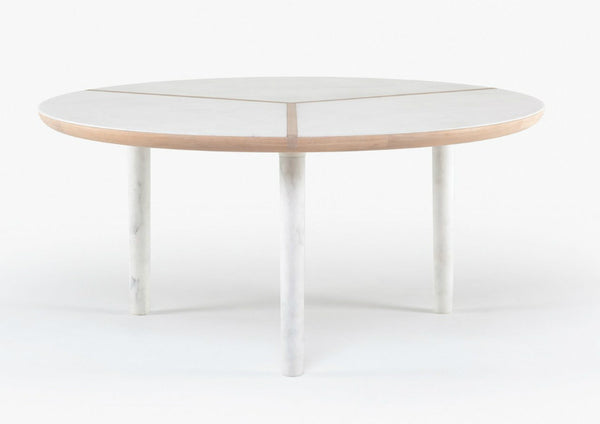 Marlon Round Dining Table by Luca Nichetto