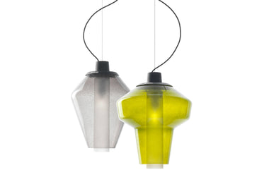 Metal Glass Suspension Lamp by Diesel - Urbanspace Interiors