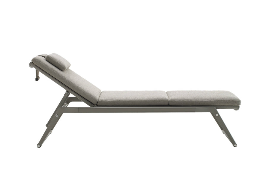 sld deluxe large sunbrella aqua outdoor lounge the cushion company chaise store