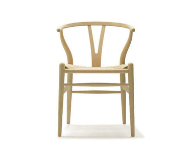 CH24 Wishbone Chair with Natural Cord Seat by Carl Hansen & Son - Urbanspace Interiors