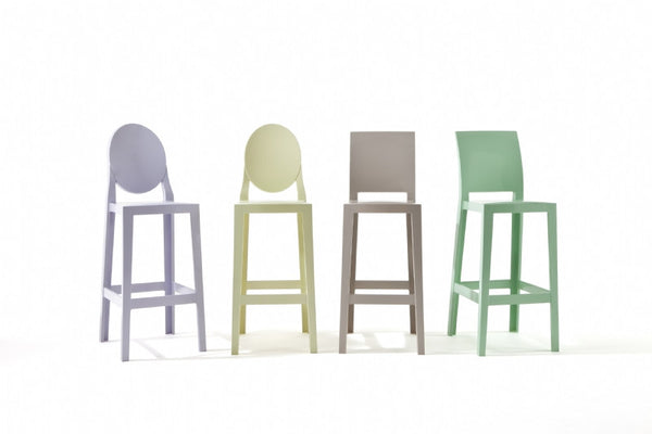 One More, One More Please Barstools (Set of 2) by Kartell
