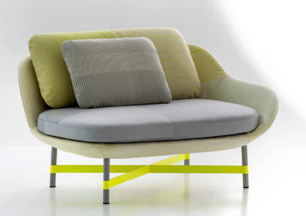 Ottoman Settee by Moroso