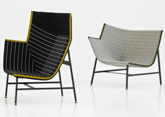 Paper Planes Lounge Chair by Moroso