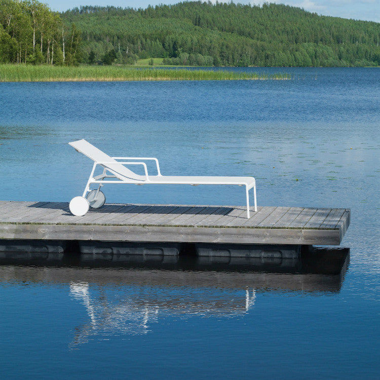 Chaise Lounge Kettal: Park Life Chaise Lounge By Kettal