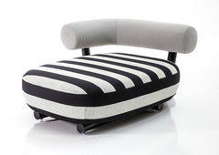 Pipe Chaise Lounge by Moroso