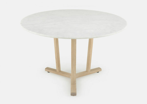 Shaker Round Dining Table by Neri & Hu