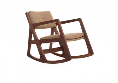 Sleepy Blind-Tufted Rocking Chair by Autoban for De La Espada - Urbanspace Interiors