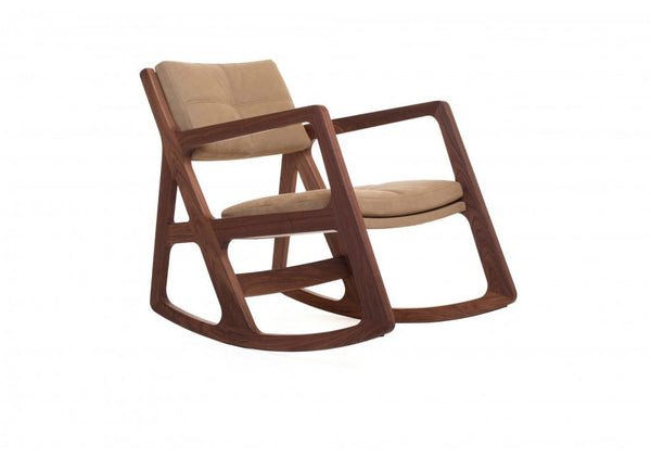 Sleepy Blind-Tufted Rocking Chair by Autoban