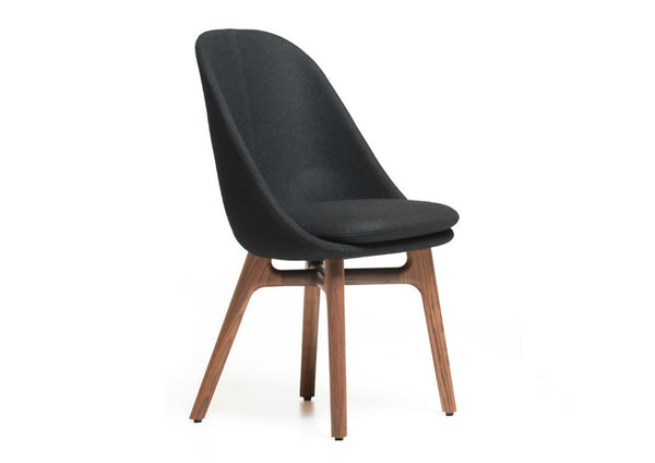 Solo Wide Dining Chair by Neri & Hu