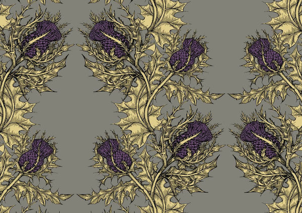 Grand Thistle Wallpaper by Timorous Beasties