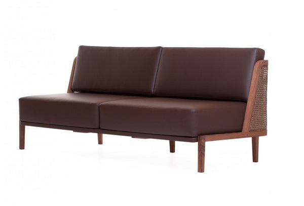 Throne Sofa with Rattan by Autoban