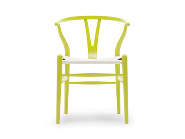 CH24 Wishbone Chair with White Cord Seat by Carl Hansen & Son - Urbanspace Interiors