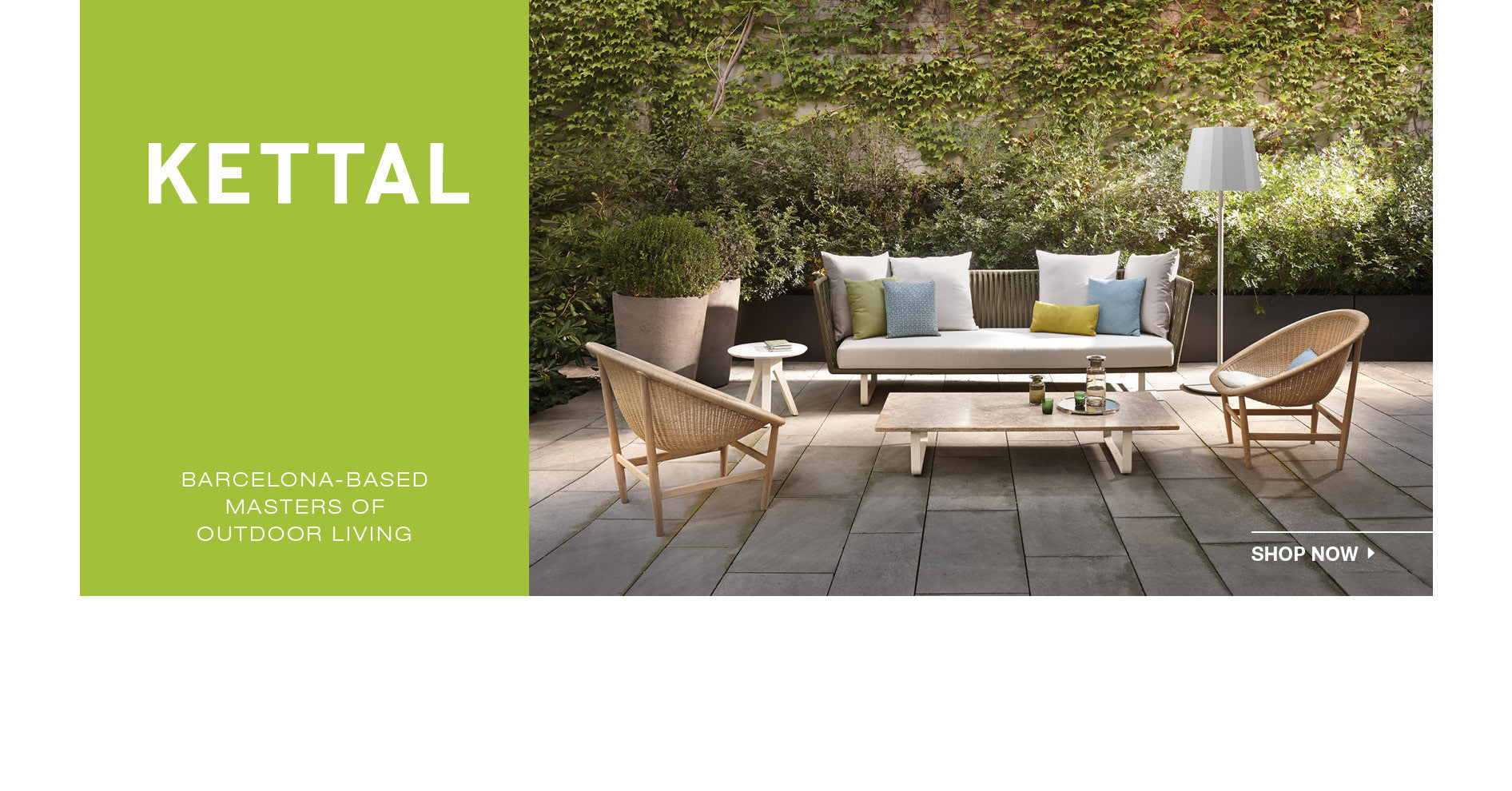 Shop Kettal for the best modern outdoor furniture