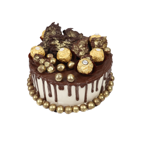 The Golden Chocolate Break Cake starts at 160$