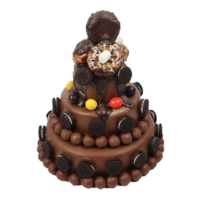 Three tier Chocolate Break Cake starts at 220$