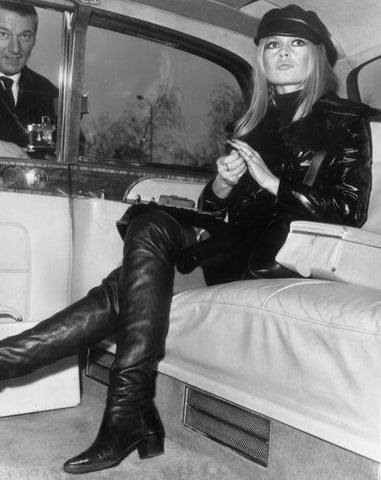 (BWC 18) Bardot In Leather